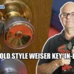 Rekey Old Wesier Key in Knob Locks